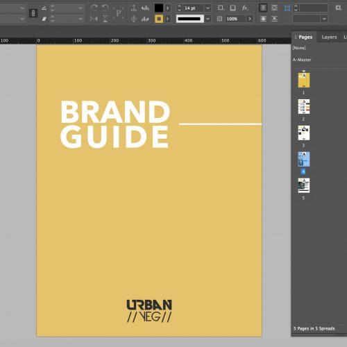 UrbanYEG Brand Guide Design